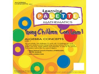 1st Grade Algebra Concepts Front Cover