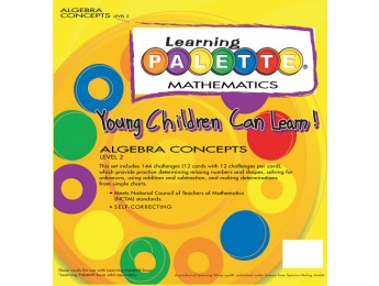 2nd Grade Algebra Concepts Front Cover