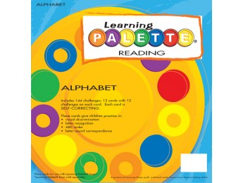 Kinder Reading Alphabet Front