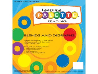 1st Grade Reading Blends &amp; Diagraphs Front