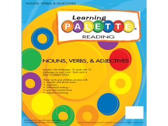 1st Gr Reading Nouns, Verbs, Adjectives Front