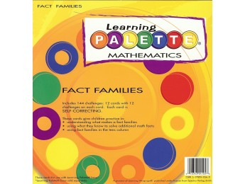 LP-M104 Fact Families Front