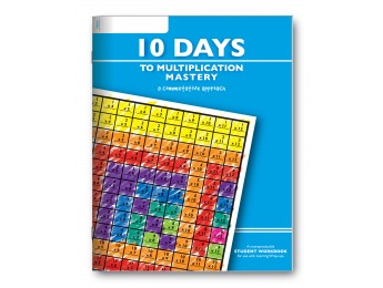10 Days to Multiplication Student Workbook