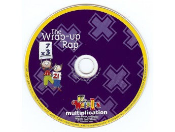 Multiplication Rap CD