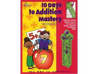 711 10 Days to Addition Mastery 32 pg workbook
