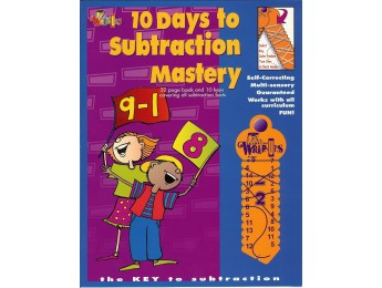 712 10 Days to Subtraction Mastery 32 pg workbook