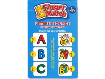 Finger Match Letters &amp; Sounds