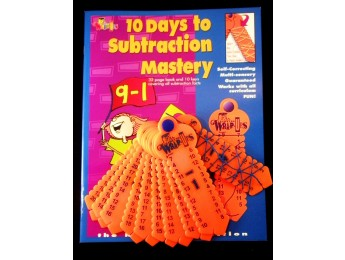 K702 Subtraction Mastery Kit