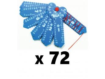Division Wrap-ups 72 Count Bulk Pack