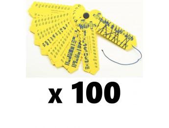 Fraction Wrap-ups 100 Count Bulk Pack
