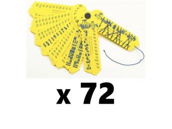 Fraction Wrap-ups 72 Count Bulk Pack