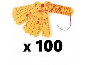 Multiplication Wrap-ups 100 Count Bulk Pack