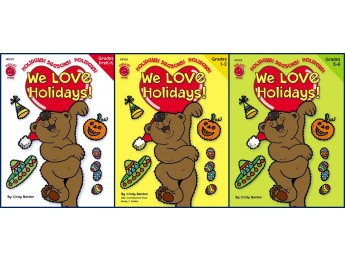 We Love Holidays - 3 Pack